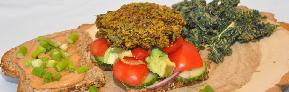 Quick and Easy Quinoa Falafels/Burgers